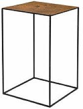 Table basse Slim Irony ART / 41 x 41 x H 64 cm -