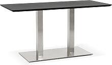 Table / bureau design 'MAMBO' noir -