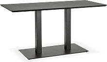 Table / bureau design 'ZUMBA' noir -