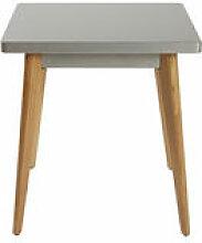 Table carrée 55 / 70 x 70 cm - Métal & pieds