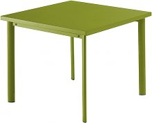Table carrée 90x90 STAR de Emu, Vert