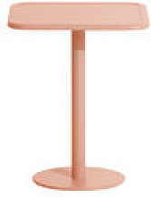 Table carrée Week-End / Bistot - Aluminium - 60 x