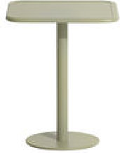 Table carrée Week-End / Bistrot - Aluminium - 60