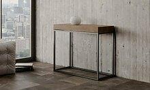 Table console à rallonge Nordica : Petite taille