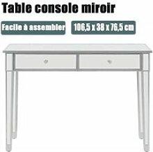 Table console Bureau Bureau table d'entrée