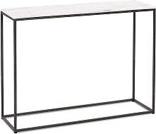 Table console design 'PATIO' en marbre