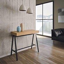 Table console extensible BANCO en bois