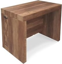 Table console extensible chay bois vintage