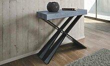 Table console extensible Diago à structure en