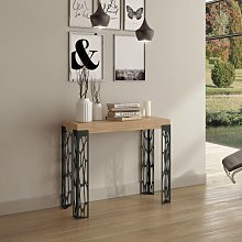 Table console extensible GHIBLI chêne nature