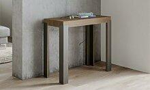 Table console extensible Linea : Petite version