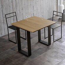 Table console extensible TECNO LIBRA oak nature