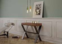 Table console extensible XENIA ART en bois massif