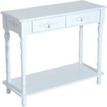Table console georgia blanche