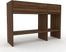 Table console - Noyer, moderne, raffinée, avec