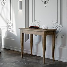Table console sabre extensible WALNUT L90