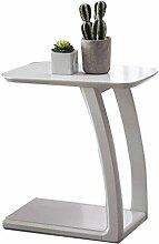 Table d'appoint avec pieds incurvés en forme