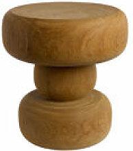 Table d'appoint Between / Bois sculpté main -
