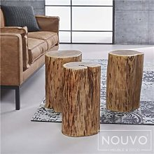 Table d'appoint bois massif MARIA
