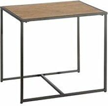 Table d'appoint bois/métal - cincinnati - l