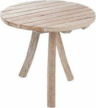 Table d'appoint bois - oscar - l 75 x l 75 x h