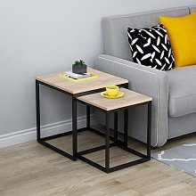 Table d'appoint carrée moderne et Simple pour