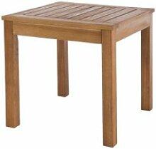 Table d'appoint d'extérieur en bois