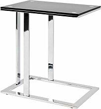 Table D'appoint Design henia 58cm Noir - Paris