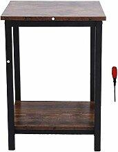Table d'appoint Evazory, simple armoire de