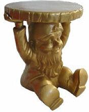 Table d'appoint Gnome Attila / Plastique -