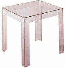 Table d'appoint Jolly - Kartell rose en