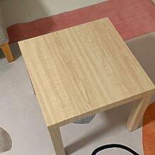 Table d'appoint moderne, petite, carrée, pour