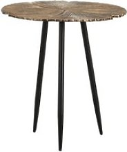 Table d'appoint or/noir - ginko taille s - l