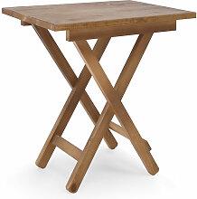 Table d'appoint pliante Maia vieillie