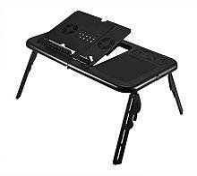 Table d'appoint portable réglable, table