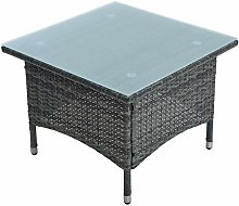 Table d'appoint Table de jardin polyrattan