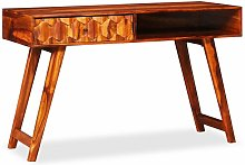 Table d'écriture Bois massif de Sesham 118 x