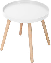Table d appoint 40XDN40CM - Blanc