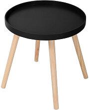 Table d appoint 40XDN40CM - Noir