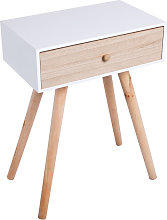 Table d appoint Chest - Blanc