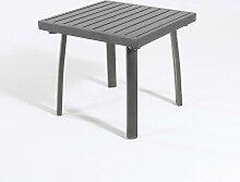 Table d'appoint de jardin en Aluminium renforcé