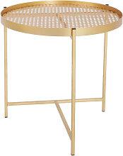 Table d appoint Métallique Cuivre 41XDN40XCM
