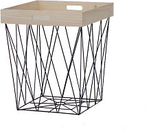 Table d appoint Tray Carrée 37,5 x 37,5 x 44,5 cm