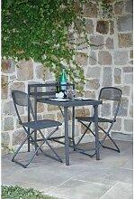 Table de balcon avec chaises Rome - 2 Personnes -