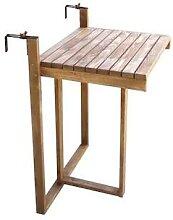 Table de balcon en bois Table pliante 2167