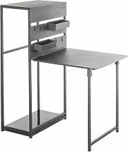 Table de balcon repliable Fira - 3 Personnes - -