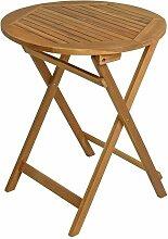 Table de balcon table pliante table en bois 60 cm