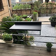 Table de Balustrade de Balcon Suspendue Pliante
