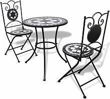 Table De Bistro 60 Cm Et 2 Chaises Mosaique