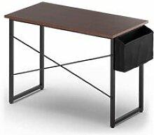 Table de bureau de travail avec porte-documents